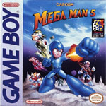 Mega Man 5 Cover