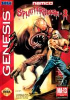Splatterhouse 3 Cover Art