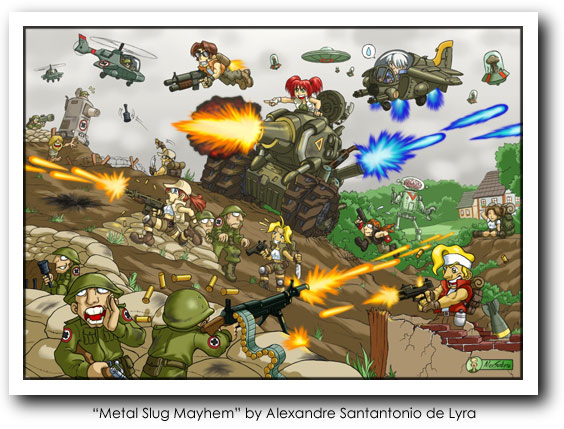 Metal Slug Art 04