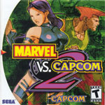 Marvel vs. Capcom 2 Cover Art