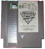 1990 Nintendo World Champtionship Grey Cartridge