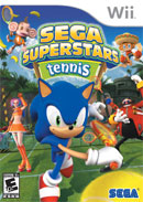 Sega Superstar Tennis Cover