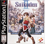 Suikoden II Cover Art