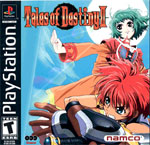 Tales of Destiny 2 Cover Art